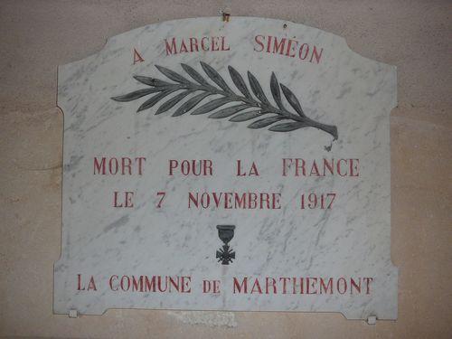 Marthemont